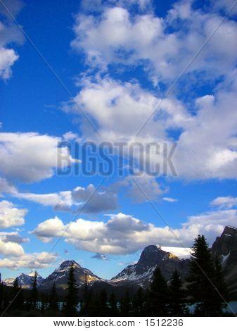Summer Skies Of The Rockies Ii Banff National Park Canada