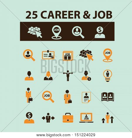 career job icons