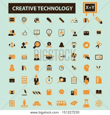 creative technology icons