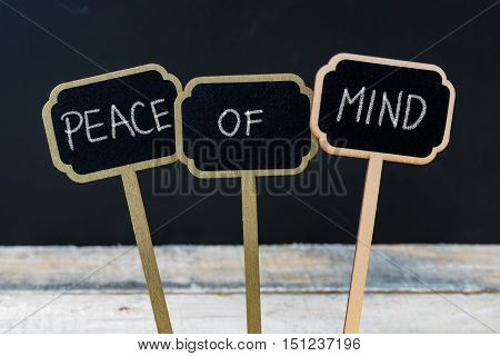 Business Message Peace Of Mind