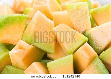 Melon background. Delicious melon. Sweet Melon. Melon fruit. Ripe melon. Melon.