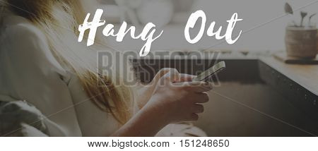 Hang Out Chill Freedom Resting Peace Relax Concept