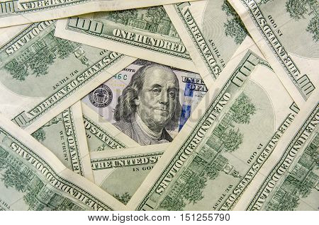 new and old design one hundred dollar bills