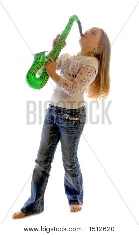 Maddy On The Sax