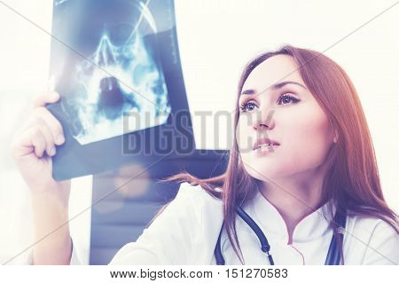 X Ray Doctor At Work