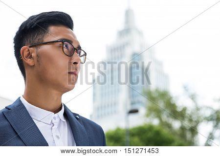 Asian Business Leader Portrait