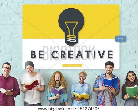 Diverse people Creative Idea Concept