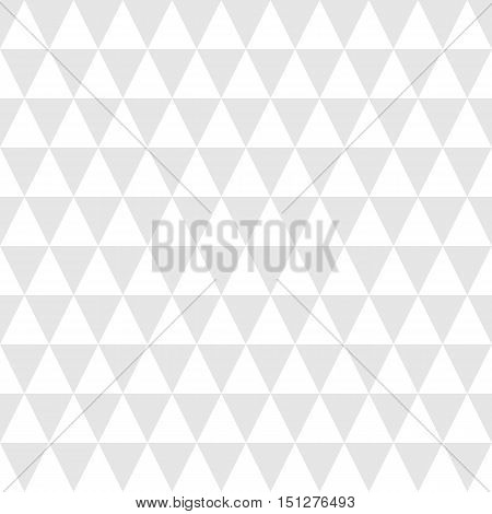 Simple geometric background with triangles. Vector illustration.