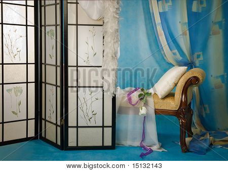Refined Boudoir Interior