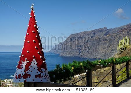 Los Gigantes Cliff Canary Islands Tenerife Spain