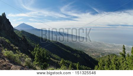 El Teide National Park Tenerife Canary Islands Spain