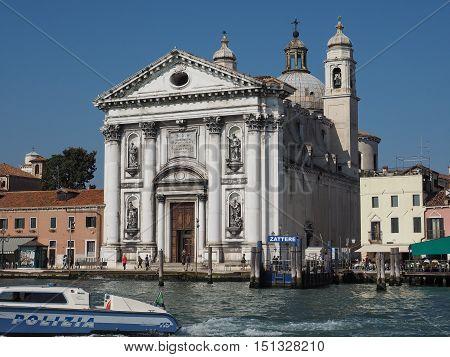 I Gesuati Church In Venice