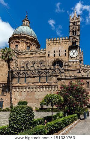 Palermo Cathedral In Palermo, Sicily