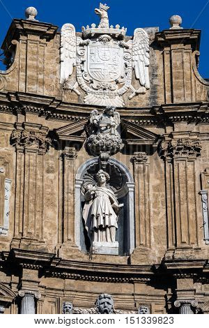 Statue Of The Virgin Martyr Saint Agatha Of Sicily
