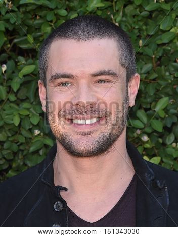 LOS ANGELES - SEP 25:  Charlie Weber arrives to the The Rape Foundation Annual Brunch on September 25, 2016 in Hollywood, CA