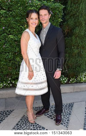 LOS ANGELES - SEP 25:  Kadee Strickland and Jason Behr arrives to the The Rape Foundation Annual Brunch on September 25, 2016 in Hollywood, CA