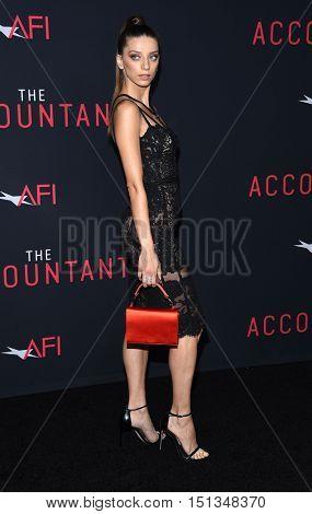 LOS ANGELES - OCT 10:  Angela Sarafyan arrives to
