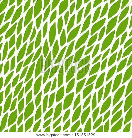 Vector seamless pattern for background. Repeating vector abstract background. Abstract green leaf pattern. Seamless green abstract square pattern. Vector repeating seamless green texture. Leaf pattern