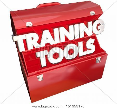 Training Tools Toolbox Learning Education Course 3d Illustration
