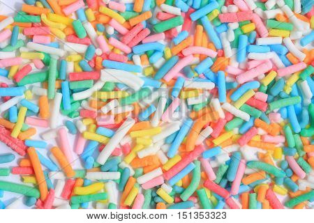 Sweet Sprinkles For Ice Cream Topping
