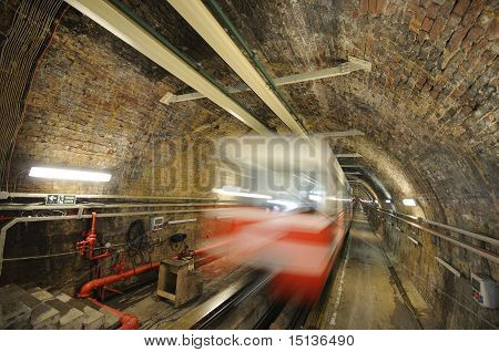 The Tunnel is a short underground railway line in Istanbul, Turkey. poster