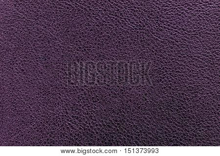 Purple leather texture or leather background for design with copy space for text or image.
