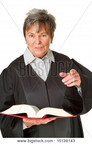 Lawyer With Statute Book
