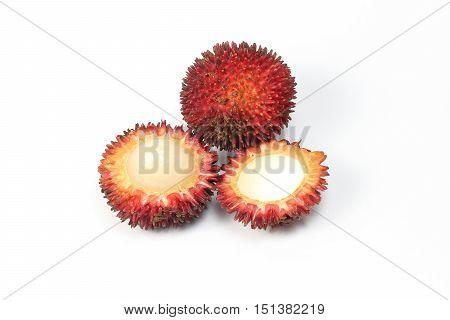 Pulasan Fruit sweet tasty juicy unique spikey