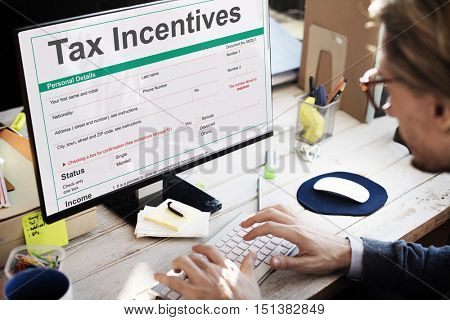 Tax Incentive Audit Benefit Cash Payment Income Concept