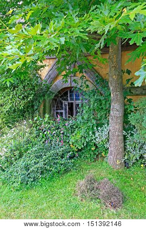 Matamata, New Zealand - January 15, 2015: Exterior Of Green Dragon Inn , Lord Of The Rings Location