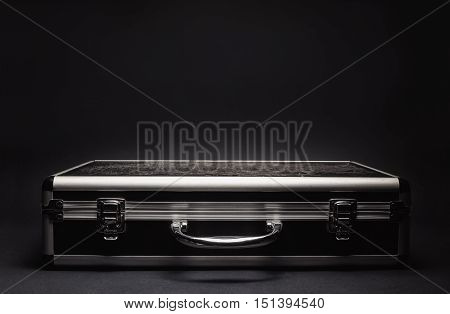 Used Suitcase Closeup View