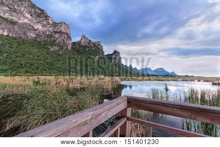 Khao Sam Roi Yot National Park.Tourism in Thailand