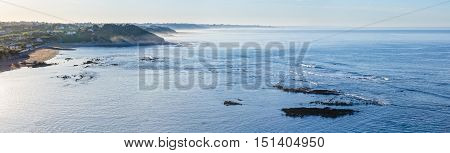 Morning Ocean View From Shore (bay Of Biscay).