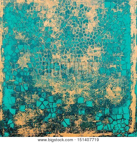 Colorful abstract retro background, aged vintage texture. With different color patterns: yellow (beige); gray; blue; cyan