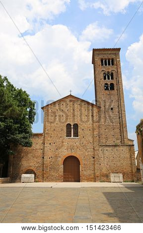 Basilica Dedicated To Saint Francis Of Assisi In Ravenna In Ital