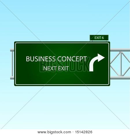 Business Concept Sign