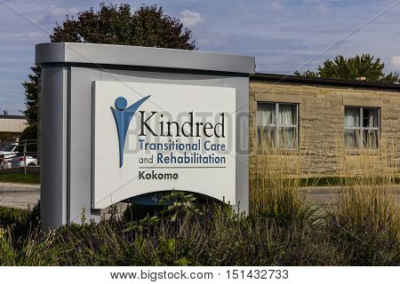 Kokomo - Circa October 2016: Kindred Transitional Care and Rehabilitation a division of Kindred Healthcare Incorporated V