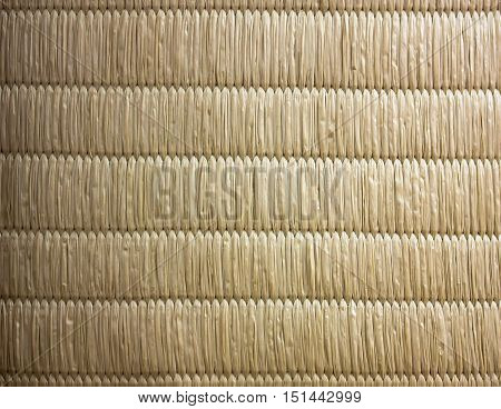 Top View Of Tatami Japanese Mat Texture Background