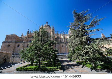 New Cathedral or Catedral Nueva of Salamanca Spain