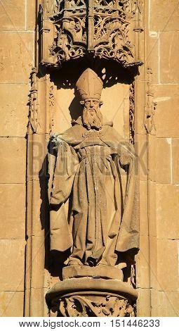 New Cathedral Of Salamanca - Saint Nicholas