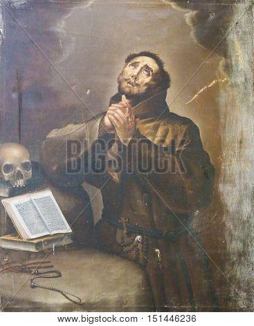 Salamanca - Saint Francis Of Assisi