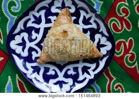 Samsa On A Plate