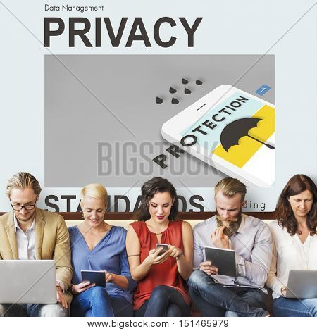 Privacy Closed Confidentiality Solitude Restricted Concept