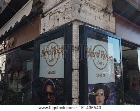 Hard Rock Cafe In Venice