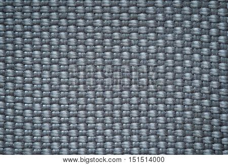 Rustic Old Silver Fabric Texture Background, Burlap.
