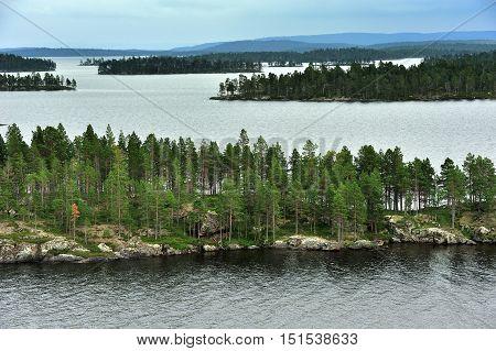 Lake Inari the King of Lapland Lakes Finland