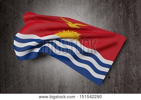 Republic Of Kiribati Flag