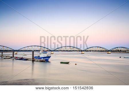 Coastline In Portimao, Algarve, Portugal