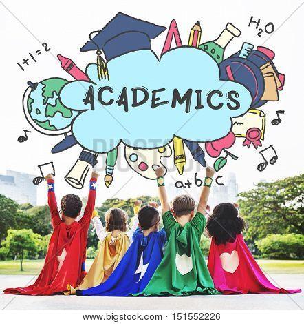 Academics Education Study Concept