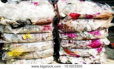 Refused shraded Plastic Waste used as biomass fuel - RPF